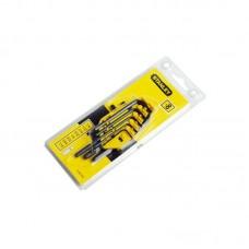 STANLEY 0-69-252 ექვსკუთხა გასაღებების ნაკრები 1/16 - 1/4 inch (8 ც)