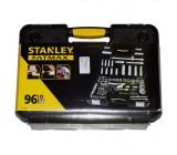"""STANLEY 1-94-668 ქანჩების/თავაკების ნაკრები  (1/4"""", 1/2"""") 96 ც"""