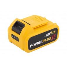 1. POWER PLUS POWXB90050 აკუმულატორი (20 V / 4.0 Ah)