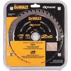 DEWALT DT4394 კომპპოზიტური მასალის საჭრელი დისკი 190 x 30 x 40T