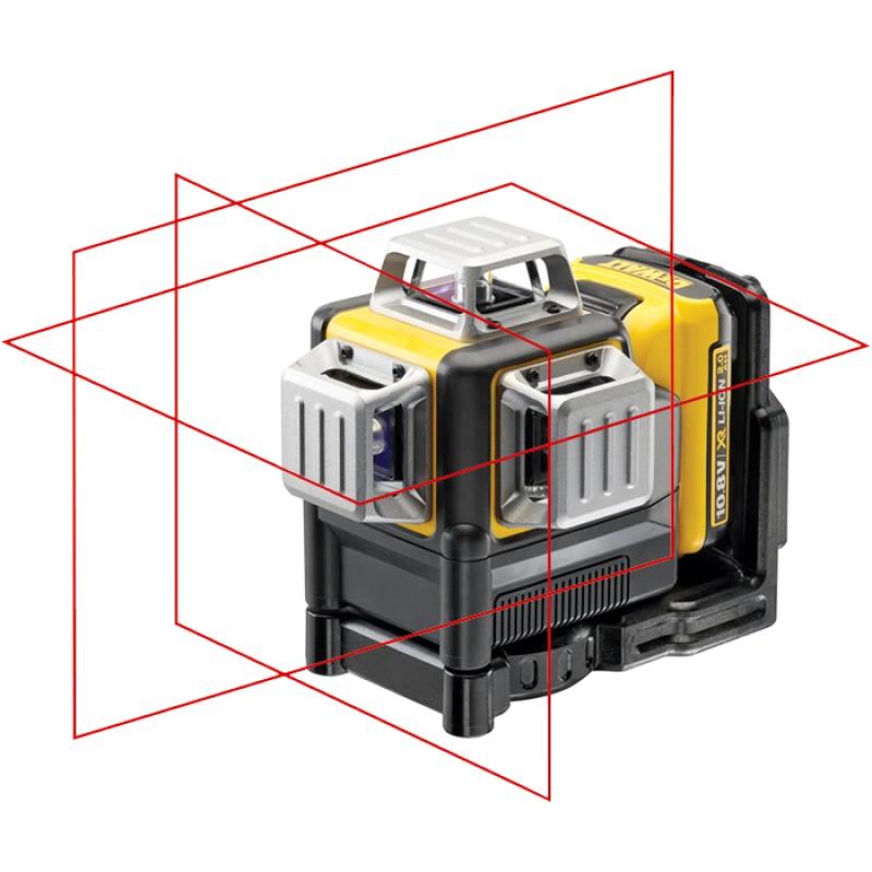 1.DEWALT DCE089D1R  ლაზერი 3 x 360° (RED)