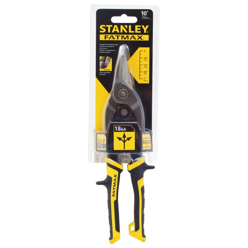 STANLEY FMHT73756-0 თუნუქის საჭრელი მაკრატელი (სწორი პირი) FATMAX