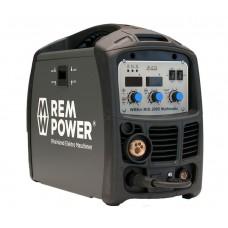 1.REM POWER WMEm MIG 200D MULTIMATIC ინვენტორული შედუღების აპარატი (BASIC LINE)  MIG / TIG / MMA