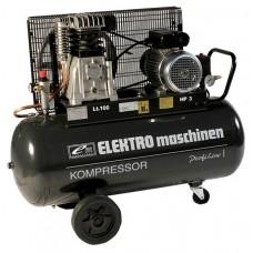 1.REM POWER E 401/9/100 ელექტრო კომპრესორი (PROESSIONAL LINE) (100 ლ)