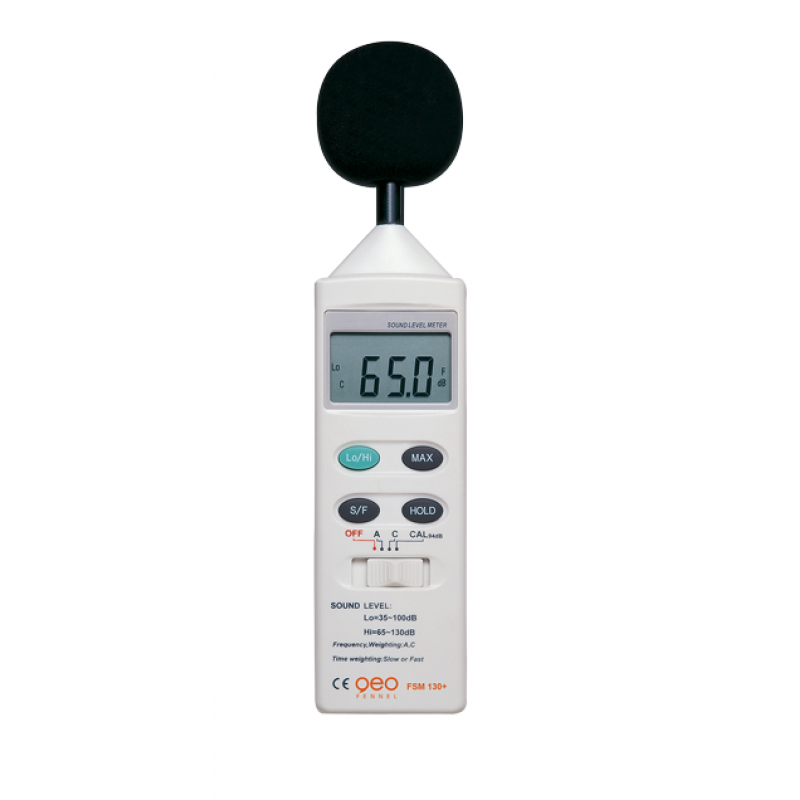 1.GEO FENNEL FSM 130+ (800210) ხმაურის დეტექტორი