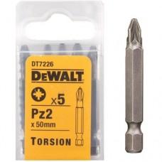 DEWALT DT7226 სახრახნისის ცვლადი პირი TORSION (Pz2)