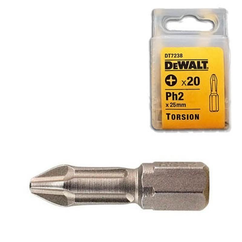 DEWALT DT7238 სახრახნისის ცვლადი პირი TORSION (Ph2)