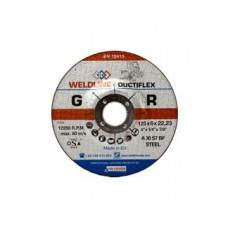 OERLIKON DUCTIFLEX სახეხი დისკი 125 X 6.0 X 22.2 მმ (მეტალი)