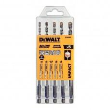 DEWALT DT60099  უნივერსალური ბურღის პირების ნაკრები IMPACT