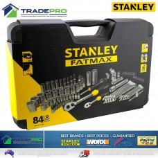 """STANLEY FMHT0-73022 ქანჩების/თავაკების ნაკრები (1/2"""",1/4"""") 84 ც"""