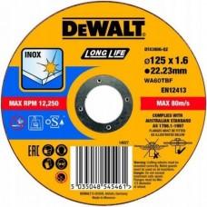 DEWALT DT43907 საჭრელი დისკი LONG LIFE 150 X 1,6 X 22.2 მმ (უჟანგავი ფოლადი)