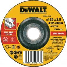 DEWALT DT43911 საჭრელი დისკი 125 X 2,8 X 22.2 მმ (მეტალი)