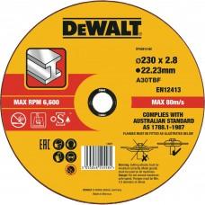 DEWALT DT43913 საჭრელი დისკი 230 X 2,8 X 22.2 მმ (მეტალი)