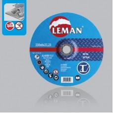LEMAN (120.00.25) საჭრელი დისკი 125 X 1,0 X 22.2 მმ (მეტალი)