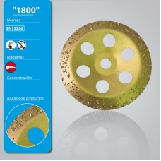 LEMAN (1800125) ალმასის სახეხი გვირცვინი 125 მმ (ქვა/ ბეტონი/ აგური)