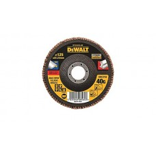 DEWALT DT30602 სახეხი დისკი EXTREME 125 X 22.2 მმ / G40 (უჟანგავი ფოლადი)