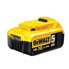 1.DEWALT DCB184 სათადარიგო აკუმულატორი (18 V / 5.0 Ah)