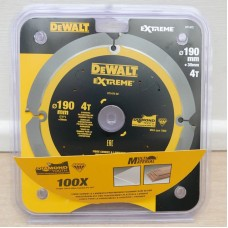 DEWALT DT1472 საჭრელი დისკი 190 X 30 X 4T (უნივერსალური)