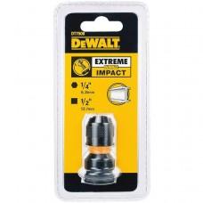 """DEWALT DT7508 1/4"""" Hex - 1/2"""" დარტყმითი ადაპტერი"""