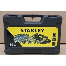 "STANLEY STHT0-73930 ქანჩების/თავაკების ნაკრები (1/2"",1/4"", 3/8"") 80 ც"