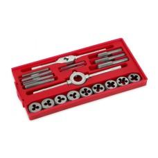 POWER PLUS KRT001120 შიდა და გარე ხრახნის მომჭრელების ნაკრები (20 ც)