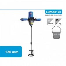 1. LEMAN LOMAX120 მიქსერი (სამშენებლო)