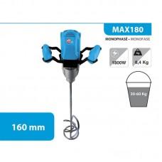 1. LEMAN MAX180 მიქსერი (სამშენებლო)