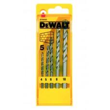 DEWALT DT6952 ბურღის პირების ნაკრები აგურისათვის (5 ც)