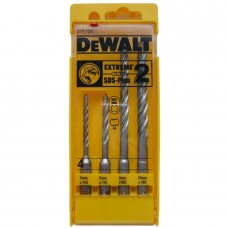 DEWALT DT9700 SDS-PLUS ბურღის პირების ნაკრები ბეტონისათვის ETREME2 (4 ც)