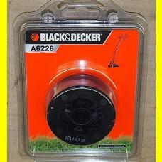 BLACK & DECKER A6226 ელ. ბალახის სათიბის შესაცვლელი კოჭა 6 მ/1,5 მმ