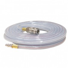 FERM ATA1027 კომპრესრის გამჭვირვალე PVC ჰაერის შლანგი 10 მ