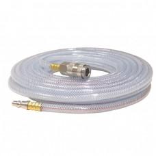 FERM ATA1027 კომპრესრის გამჭვირვალე PVC შლანგი 10 მ