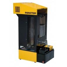 1.MASTER WA33 B (4517.054) ჰაერის გამათბობელი თხევად საწვავზე (ნამუშევარი ზეთი)