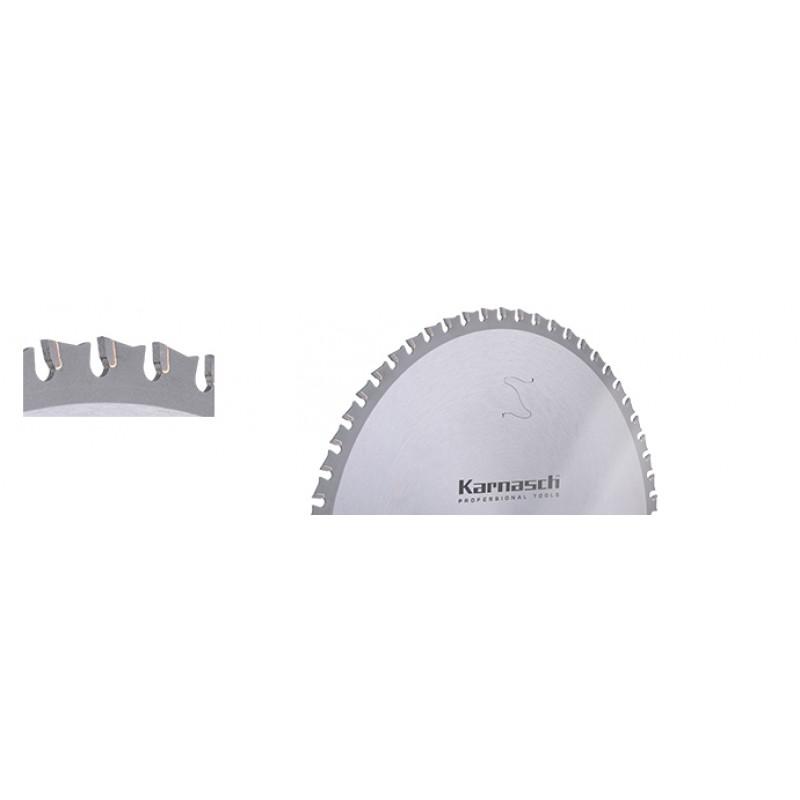 2.KARNASCH 10.7100.250.020 ფოლადის საჭრელი დისკი 250x2.2/1.8x30/25.4 მმ, 60Z (Dry-Cutter)