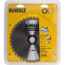 DEWALT DT1157 საჭრელი დისკი 235 x 30 x 40T (ხე/ხე-მასალა/ფანერა/დსპ)