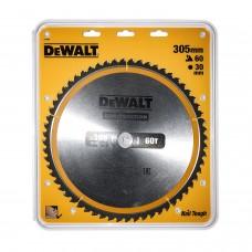 DEWALT DT1960 საჭრელი დისკი 305 x 30 x 60T (ხე / ხე-მასალა)