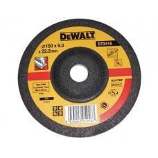 DEWALT DT3416 სახეხი დისკი 150 X 6,0 X 22.2 მმ (მეტალი)