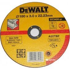 DEWALT DT3420 საჭრელი დისკი 180 X 3,0 X 22.2 მმ (მეტალი)