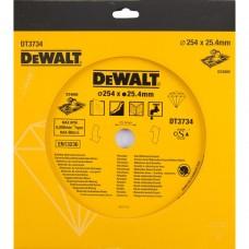 DEWALT DT3734 ალმასის საჭრელი დისკი 254 x 25.4 მმ (ქვა/კერამიკული ფილა)