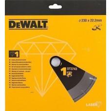 DEWALT DT3743 ალმასის საჭრელი დისკი 230 x 22.2 მმ (უნივერსალური)