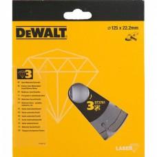 DEWALT DT3761 ალმასის საჭრელი დისკი 125 x 22.2 მმ