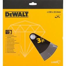 DEWALT DT3763 ალმასის საჭრელი დისკი 230 x 22,2 მმ