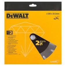 DEWALT DT3773 ალმასის საჭრელი დისკი 230 x 22.2 მმ (ქვა/ბეტონი)