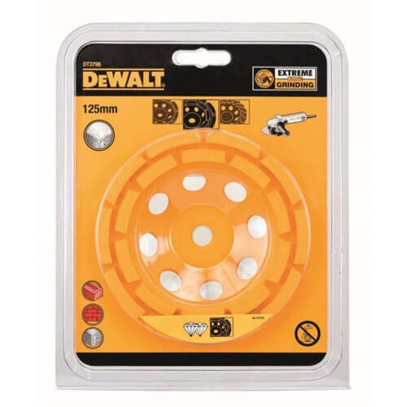 DEWALT DT3796 ალმასის ორმაგი სახეხი გვირგვინი (EXTREME) 125 მმ (ქვა/ბეტონი/აგური/კერამიკა)