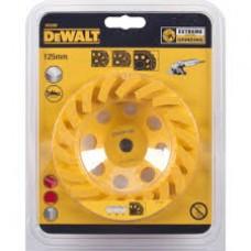 1.DEWALT DT3797 ალმასის სახეხი გვირგვინი (Turbo EXTREME) 125 მმ (ქვა/ბეტონი/აგური/კერამიკა)