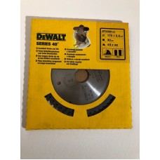 DEWALT DT4089 საჭრელი დისკი 170 X 30 X 48T (ხე/ხე-მასალა/ფანერა)