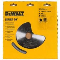 DEWALT DT4094 საჭრელიბ დისკი 190 X 30 X 48T (ფანერა/ხე/ხე-მასალა/პლასტიკი/ალუმინი)