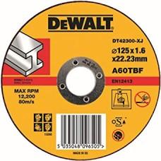 DEWALT DT42300Z საჭრელი დისკი 115 X 1,6 X 22.2 მმ (მეტალი)