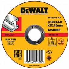 DEWALT DT42301Z საჭრელი დისკი 115 X 3,0 X 22.2 მმ (მეტალი)