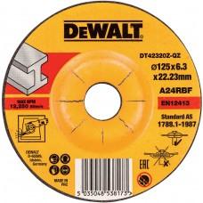 DEWALT DT42320Z სახეხი დისკი 125 X 6,3 X 22.2 მმ (მეტალი)